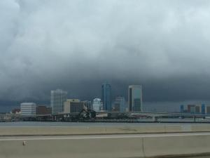 Fay Over the Jacksonville Skyline